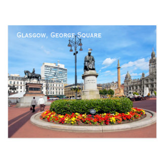 Glasgow George kvadrerar, Skottland Vykort