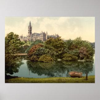 Glasgow universitetentryck poster