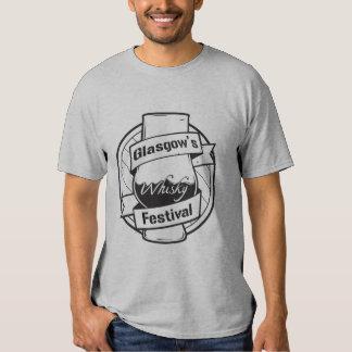 Glasgows T-tröja för Whiskyfestival Tee Shirt