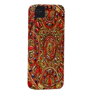 Glass blackberry bold 9700/9 för abstrakt fläck iPhone 4 Case-Mate skydd