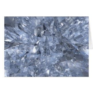 Glass Chards Hälsningskort