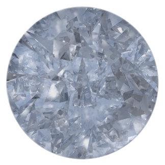 Glass Chards Tallrik