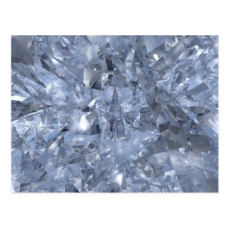 Glass Chards Vykort