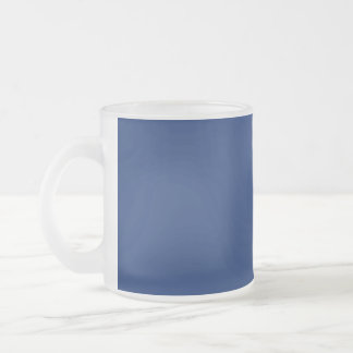 Glass för mugg blått uni