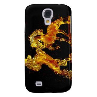 Glass hästar av den Venedig italien Galaxy S4 Fodral