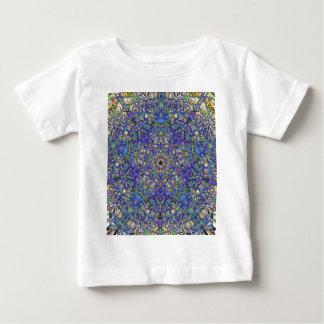 Glass mönster för Bristol blått T-shirts