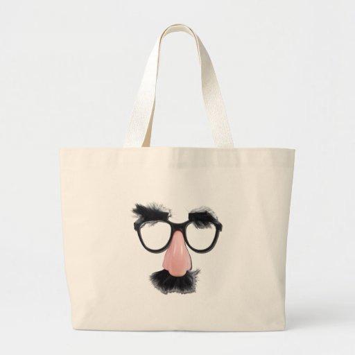 GlassesMustacheEyebrows090411 Tote Bag