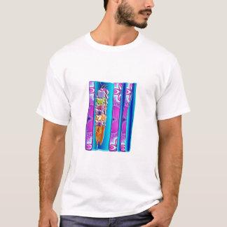 glasskotte med remsor t-shirts