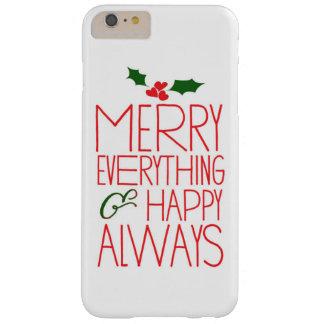 Glatt allt och för lycklig alltid Techfodral Barely There iPhone 6 Plus Skal