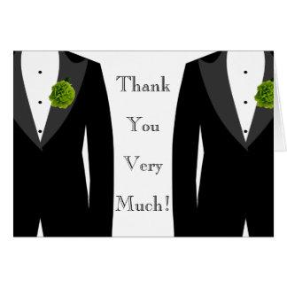 Glatt brudgum för bröllopgröntnejlika kort för