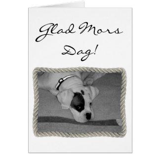 Glatt för mors dagboxare för Mors Dag kort för häl