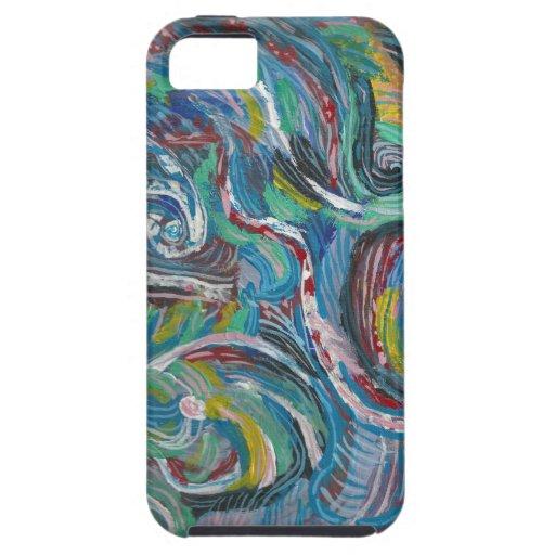 GLATT RITT: LOWPRICE LAGER för konstnärlig energiv iPhone 5 Case-Mate Fodral
