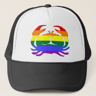 GLBT-pride:  Cancer Juni 22 - Juli 22 Truckerkeps