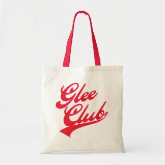 Gleeklubb (swoosh) budget tygkasse