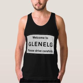 Glenelg vägmärke, Skottland, UK Tanktop