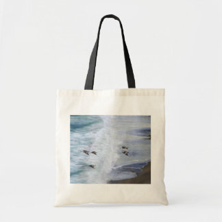 Glida över strand tygkasse