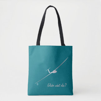 Glidflygplan - vad annat? tygkasse