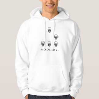 Glidflygplanet: En universell HackerEmblem Hoody Sweatshirt Med Luva
