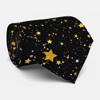 Glitter Stars3 - Guldsvart Slips