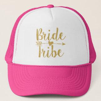 Glitter-Tryck för brud Tribe|Golden Keps