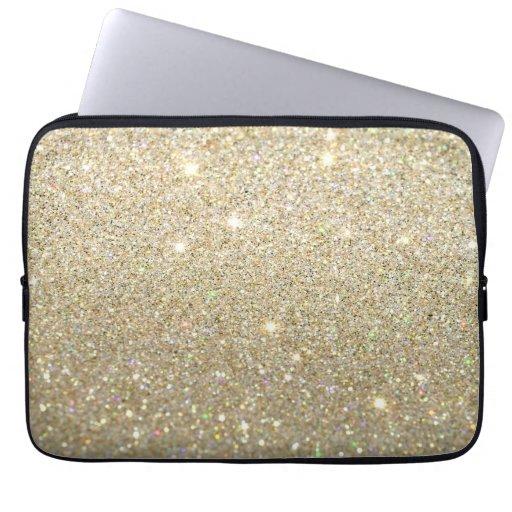 Glitterbärbar datorfodral