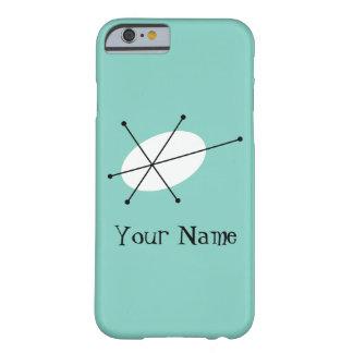 """Glitterblått känd"""" lodrät för fodral för iPhone 6 Barely There iPhone 6 Skal"""