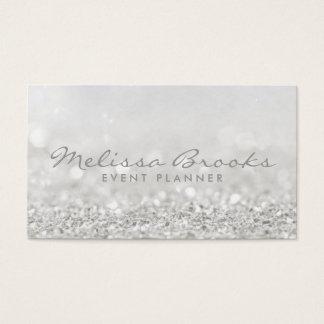 Glitterdesign för visitkort  