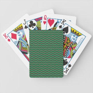 Glittery helgdagsicksackar spelkort