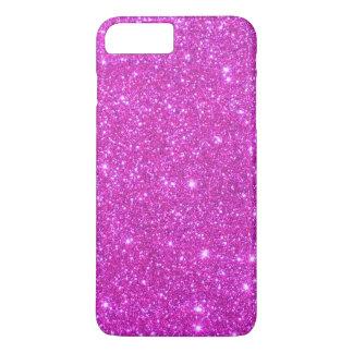 Glittery iPhone för rosa gnistra 7 Sparkly fodral
