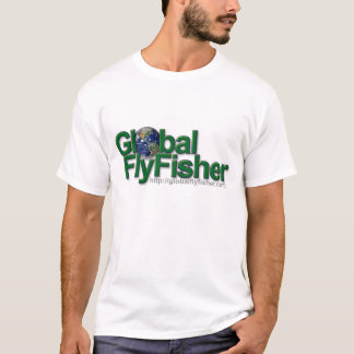 Global FlyFisher logotypT-tröja T Shirts