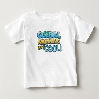 Global värme är inte den kalla begynna T-tröja T-shirt