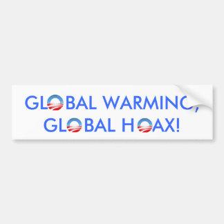 Global värme? bildekal