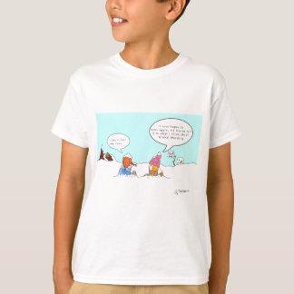 Global värme tee shirt