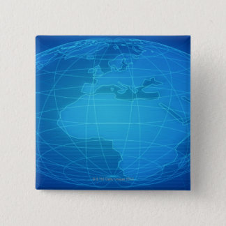 Globalt avbilda standard kanpp fyrkantig 5.1 cm