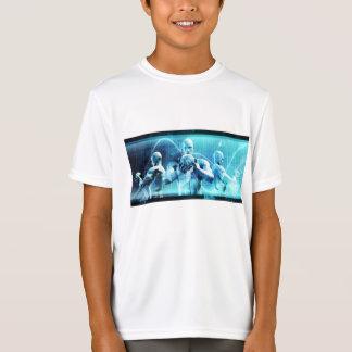 Globalt konferensbegrepp som en abstrakt bakgrund tröjor