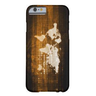 Globalt ta fram av tjänste- och teknologilösningar barely there iPhone 6 skal