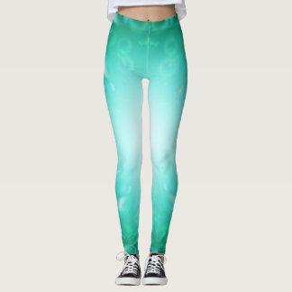 Glöd bubblar leggings