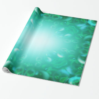 Glöd bubblar presentpapper
