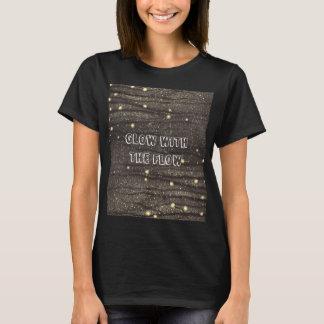 Glöd med flödessuppleanten t-shirt