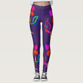 glödande damasker leggings