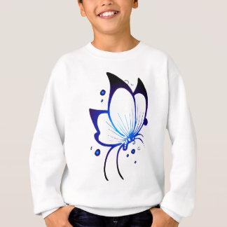 Glödande fjäril t-shirt