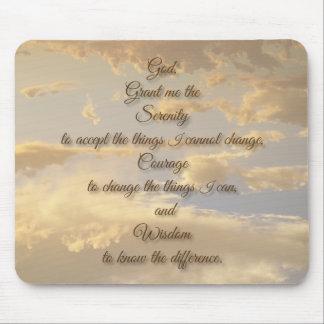 Glödande himmel för Serenitybön Musmatta
