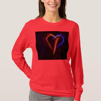 glödande hjärta tröja