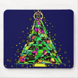Glödande julTree. Musmatta