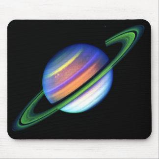 Glödande Saturn Mousepad Musmatta