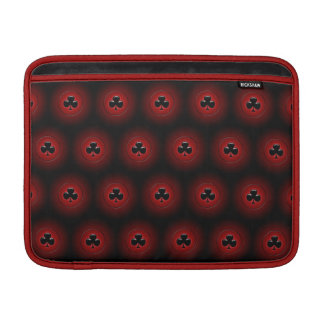 Glödande seamless mönster för klubbar MacBook air sleeve