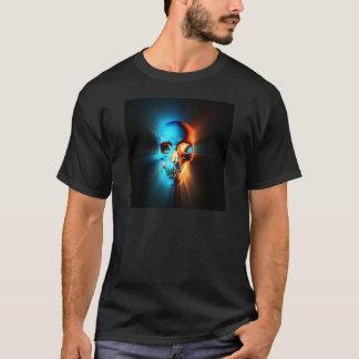 Glödande skalle t shirts