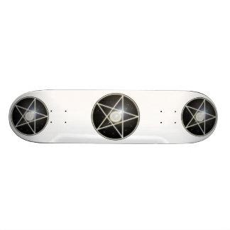 Glödande Skateboard för Pentagram 1