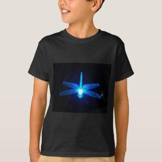 Glödande slända t-shirt
