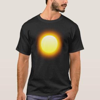 Glödande sol t shirt